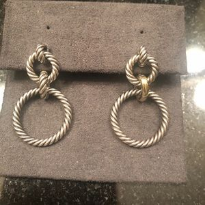 David Yurman classic cable earrings